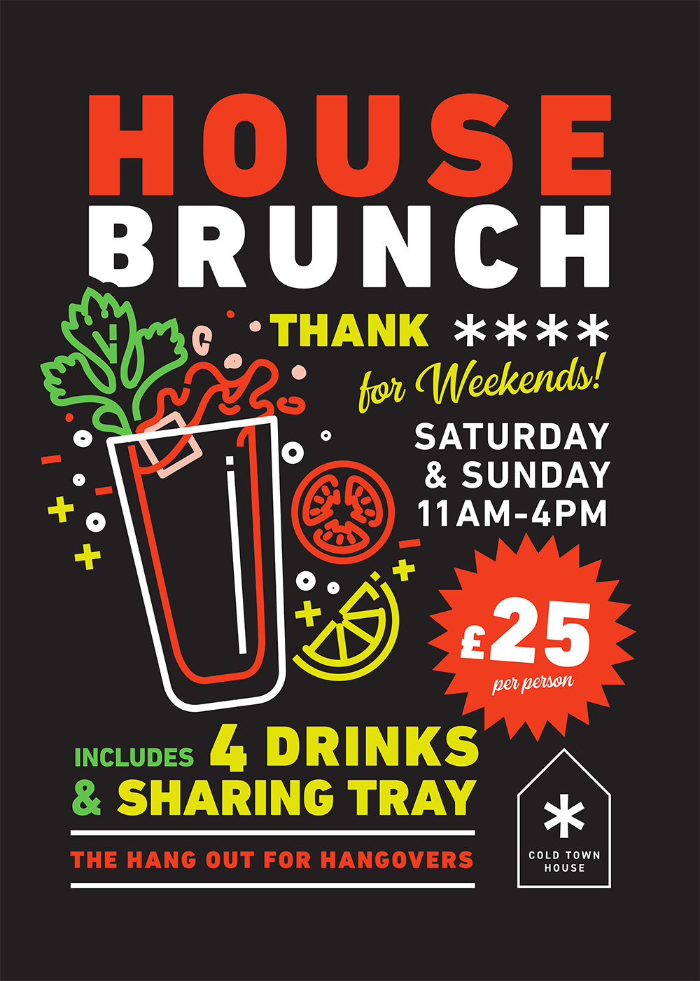 Boozy Brunch at Cold Town House