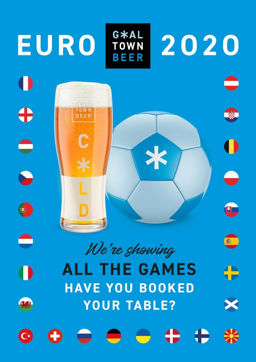 Watch The Euros at Cold Town House