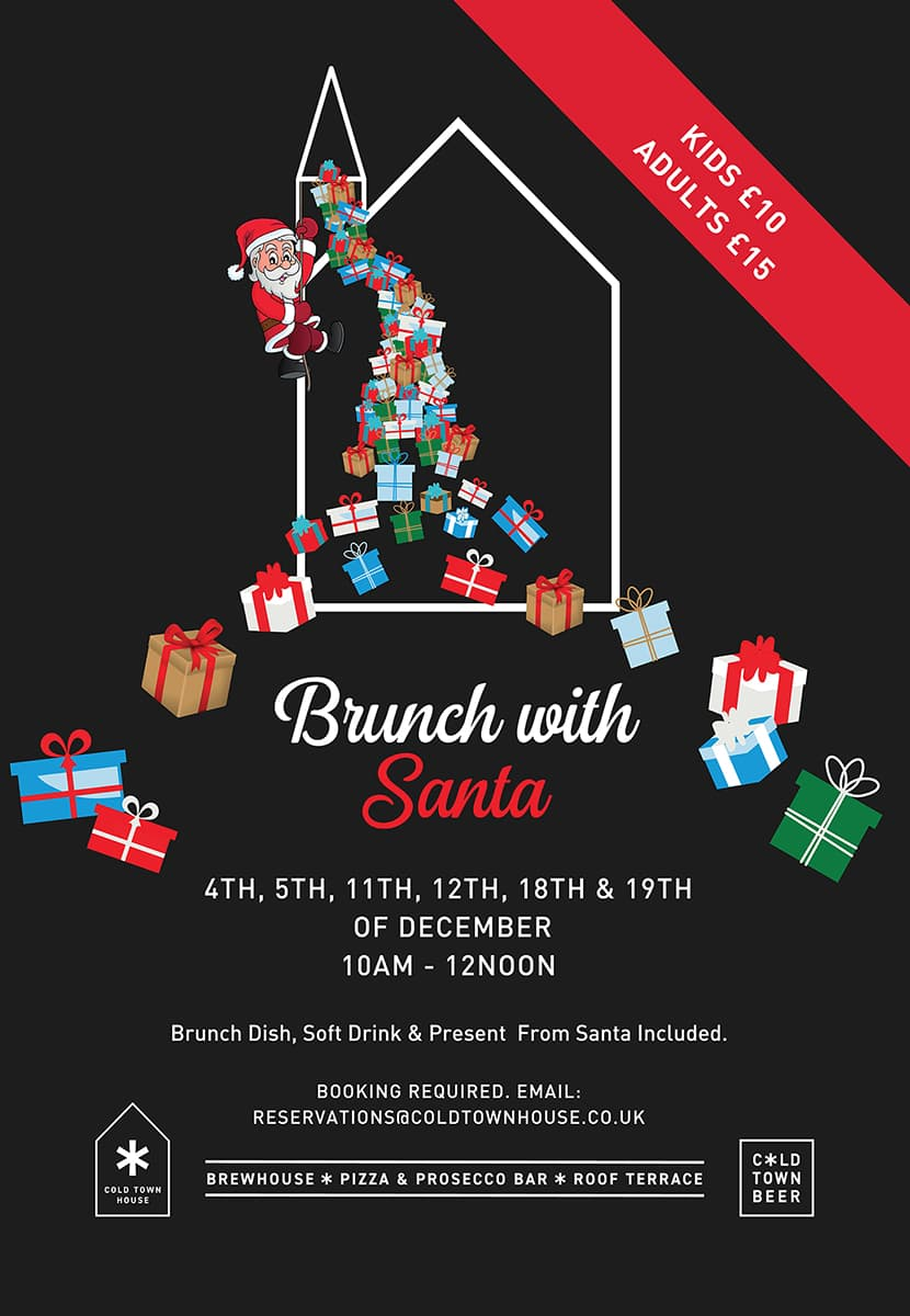 Brunch with Santa at Cold Town House 2021 Book Here