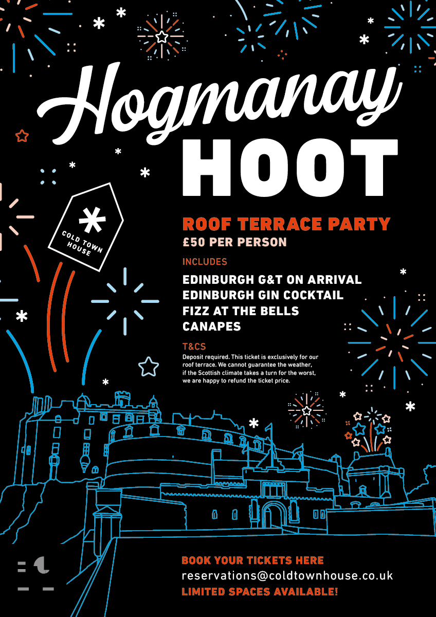 Cold Town House Hogmanay Book Here